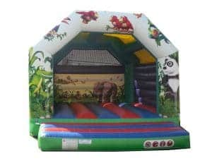 Jungle Bouncy Castle Hire